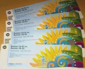 Heiß begehrt und Betrugsobjekt - Eintrittskarten zur WM 2014